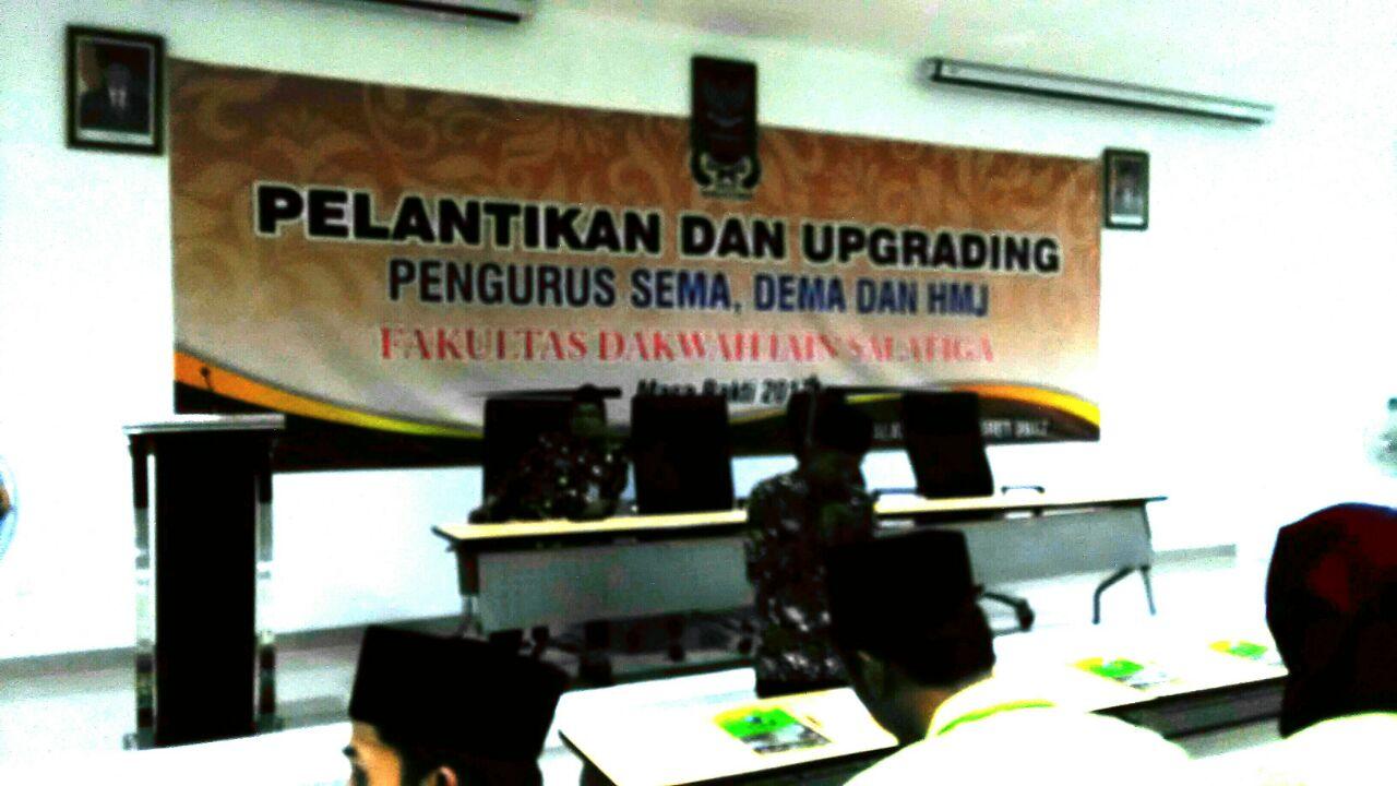 Pelantikan Fakultas Dakwah