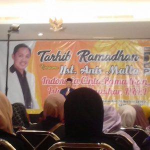Tarhib ramadan oleh PKS