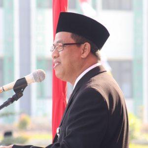 Rektor IAIN Salatiga saat menyampaikan sambutan dalam pembukaan OPAK 2017