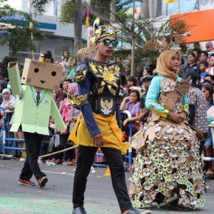 Peserta karnaval IAIN Salatiga