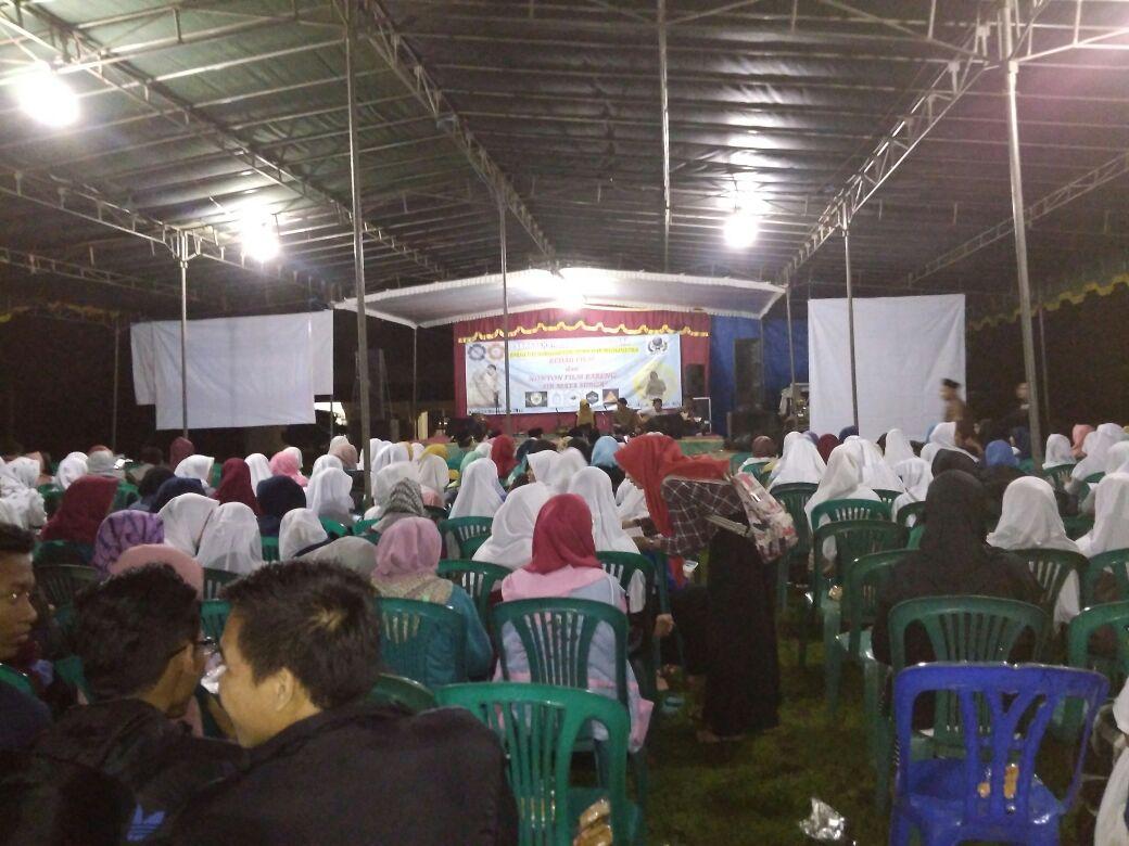 Suasana bedah film mahasiswa FUAH