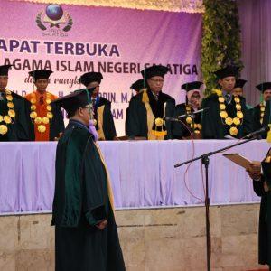 Pengukuhan guru besar IAIN Salatiga