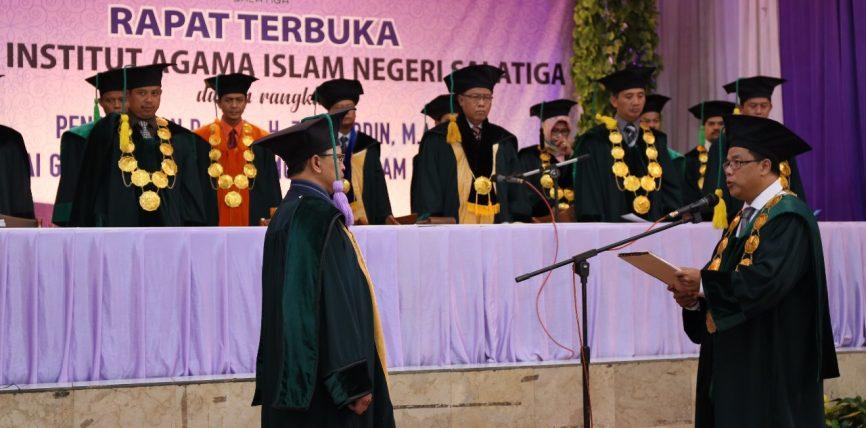 Prof. Zakiyuddin Menambah Formasi Guru Besar IAIN Salatiga