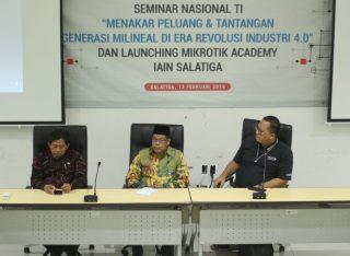 Launching Mikrotik Akademik Jawab Tantangan Milenial