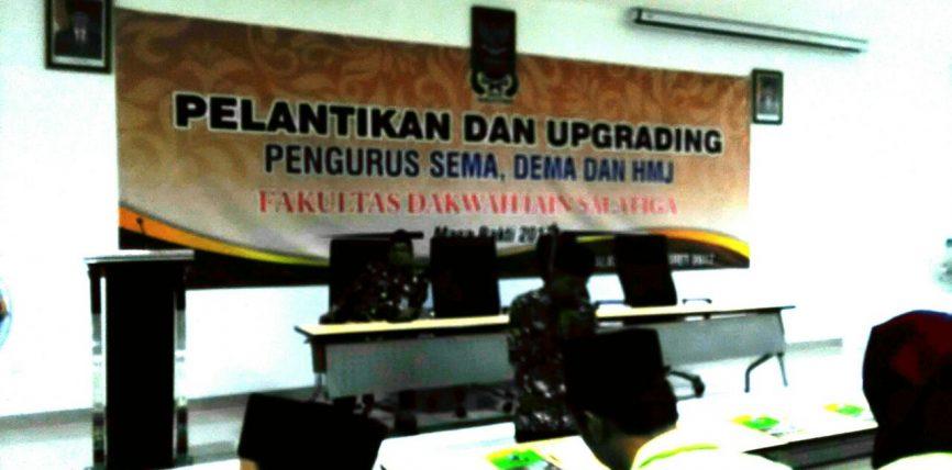 Fakultas Dakwah Gelar Pelantikan dan Upgrading