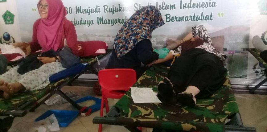 HMJ PGMI Lancarkan Donor Darah Bagi Khalayak Umum