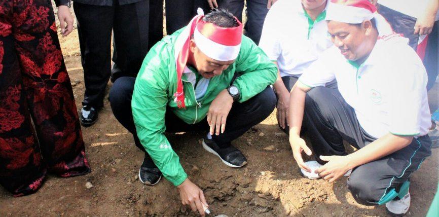 MENPORA Letakkan Batu Pertama Pembangunan 'Sport Center' IAIN