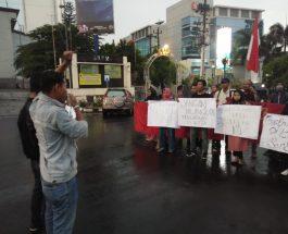 Aliansi Demokrasi dan Keadilan Rakyat (ADIL) Turun ke Jalan Gelar Aksi