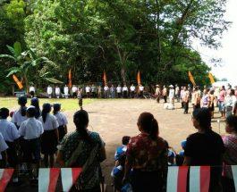 Upacara HUT RI Dilaksanakan 26 Agustus di Desa Kenalan