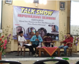 Talkshow Kepenulisan Bersama Alumni SPI