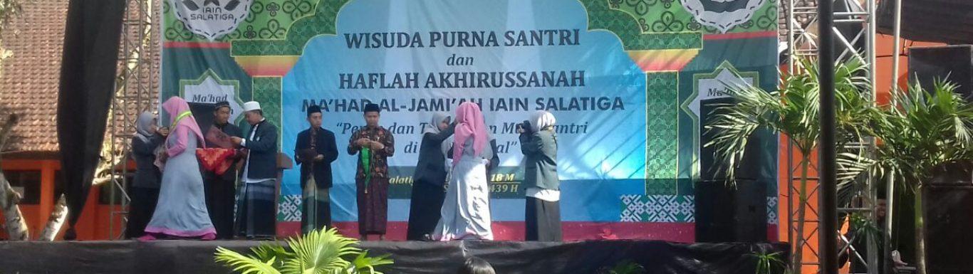 Mahasantri Ma'had Al Jamiah IAIN Salatiga Diwisuda